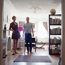 Photo: title: Erika Langstroth & Per Billgren, Brooklyn, New York date: 2012 relationship: friends, art, met through Joe Wardwell years known: 10-15