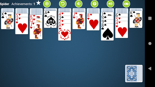 Spider Solitaire Free 2.4 screenshots 2