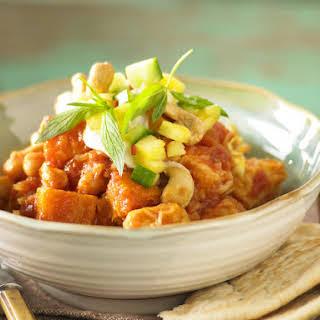Pumpkin and Tofu Curry.