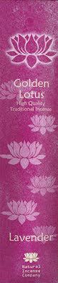 Rökelse Golden Lotus - Lavender