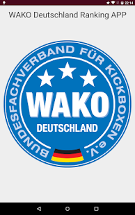 WAKO Deutschland Ranking- screenshot thumbnail