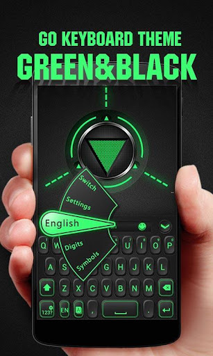 GREEN BLACK GO KeyboardTheme