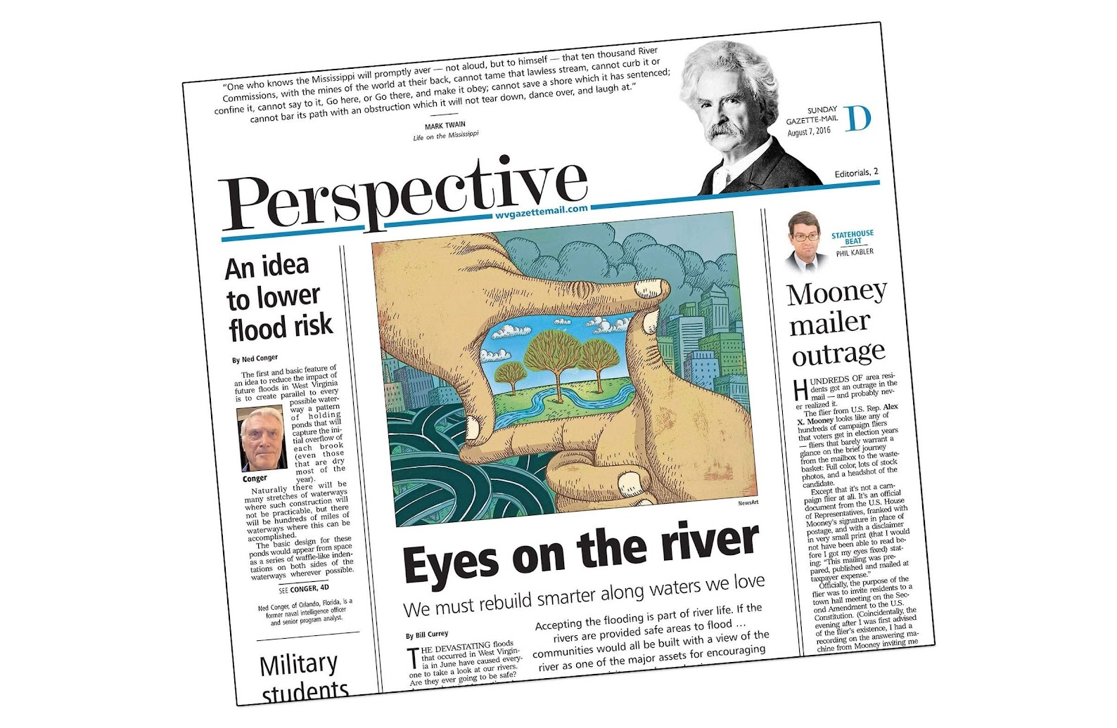 Coal River Group featured in Perspective section of West Virginia Gazette