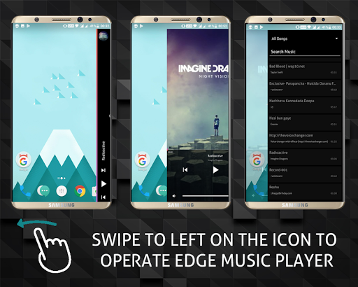 S9 Edge Music Player 12.7.18 screenshots 9