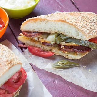 Fully Loaded Turkish Grilled Cheese Sandwich (Kumru)