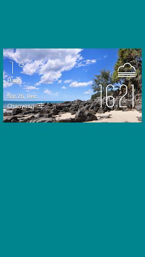 Alexandria weather widget