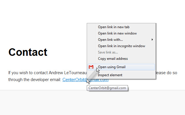 Right Click Email for Gmail