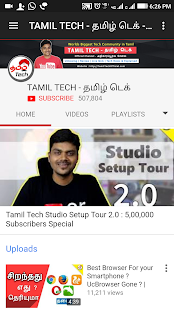 Download Top 10 YouTube Channels Tamil Tech Videos For PC Windows and Mac apk screenshot 3