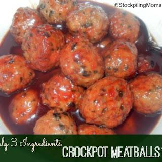 Crockpot Meatballs.