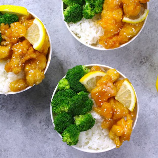 Easy Crispy Chinese Lemon Chicken (with Video).