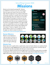 Photo: Brand new #SmurflingLesson on Missions and Mission day!!!!  #Smurflinglessons  #ingress  #resistance