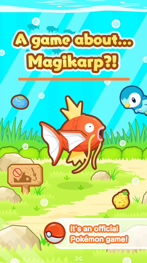 Pokémon: Magikarp Jump- screenshot