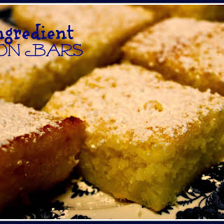 Two Ingredient Lemon Bars!.
