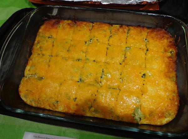 Broccoli Brag Casserole Recipe