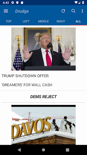 Screenshot for The Report - Conservative News - Premium in United States Play Store