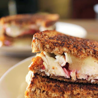 Brie, Chicken, and Chipotle Raspberry Panini.