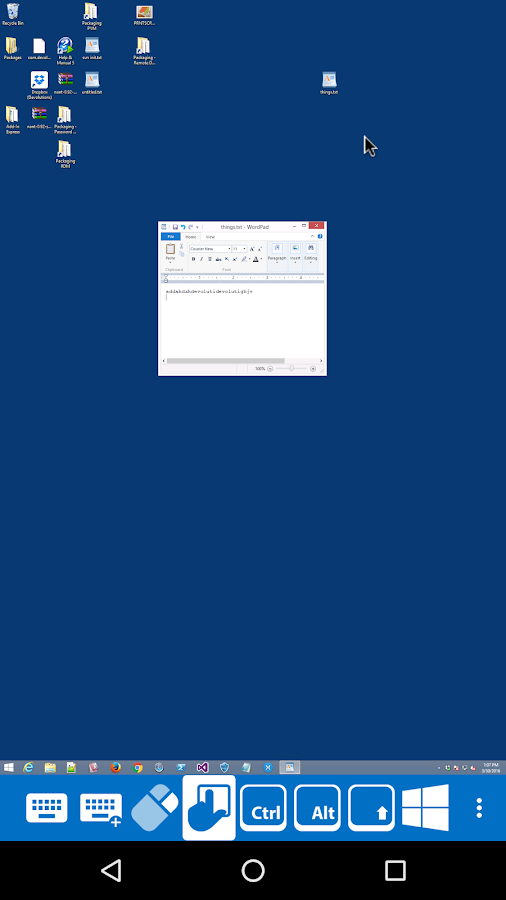 Remote Desktop Manager- screenshot