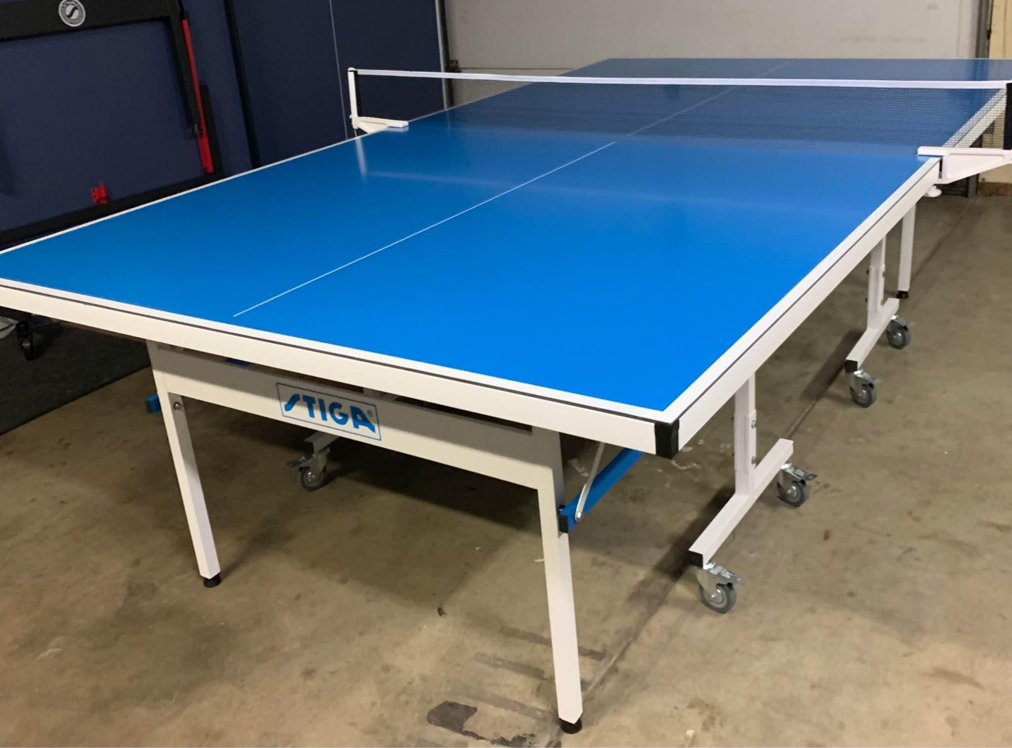 Stiga Review - Stiga Aluminum Ping Pong Table