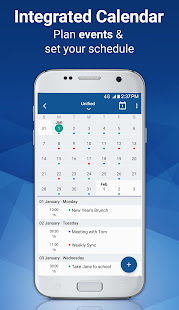 App Email Blue Mail - Calendar & Tasks APK for Windows Phone