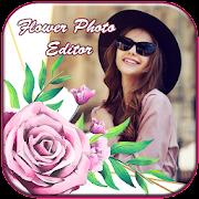 Flower Photo Editor : Valentine Rose Photo Editor