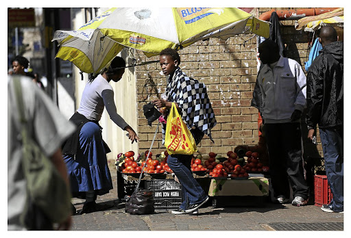 The informal traders association believes the bill's proposed ban on the display of cigarettes, as well as a ban on the sale of loose cigarettes, will have a negative impact on members. /ALON SKUY