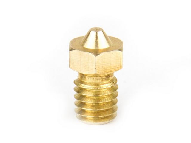 E3D Genuine Brass V6 Nozzle 1.75mm Various Sizes
