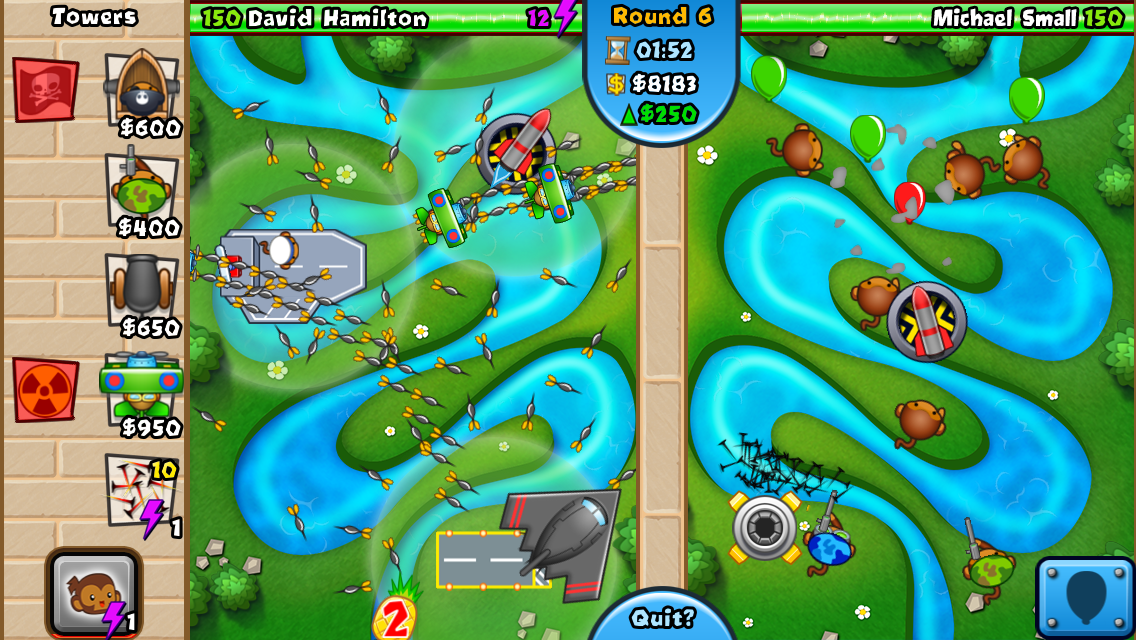 #4. Bloons TD Battles (Android)