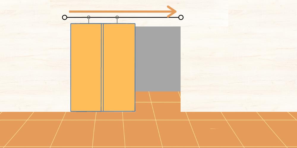 eltolható fal vagy ajtó osb lapból