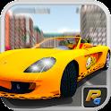 Corrida Crazy Taxi Simulator 3 icon