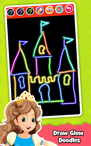 Princess Coloring Book for Kids & Girls Games ud83cudfa8 screenshots 21