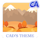 Flat Autumn Xperia Theme for PC-Windows 7,8,10 and Mac