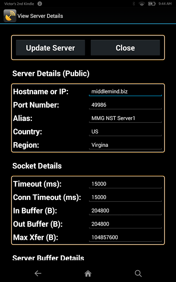 Network Speed Test (Full)- screenshot