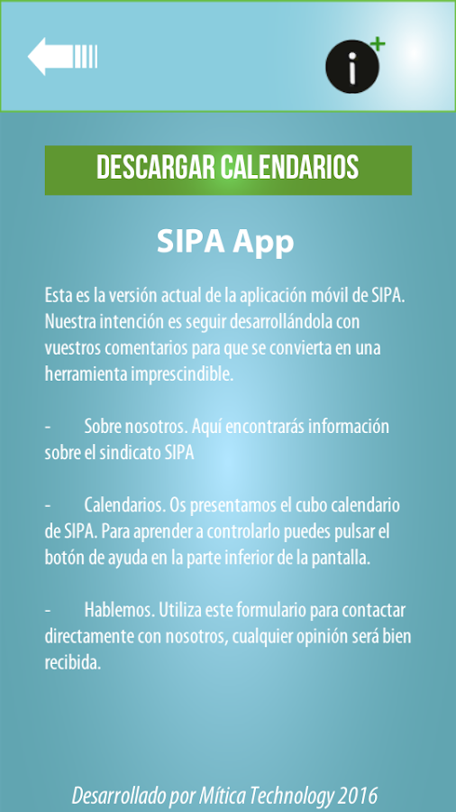 SIPA- screenshot