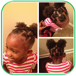 African Hairstyles for Little Girls - náhled