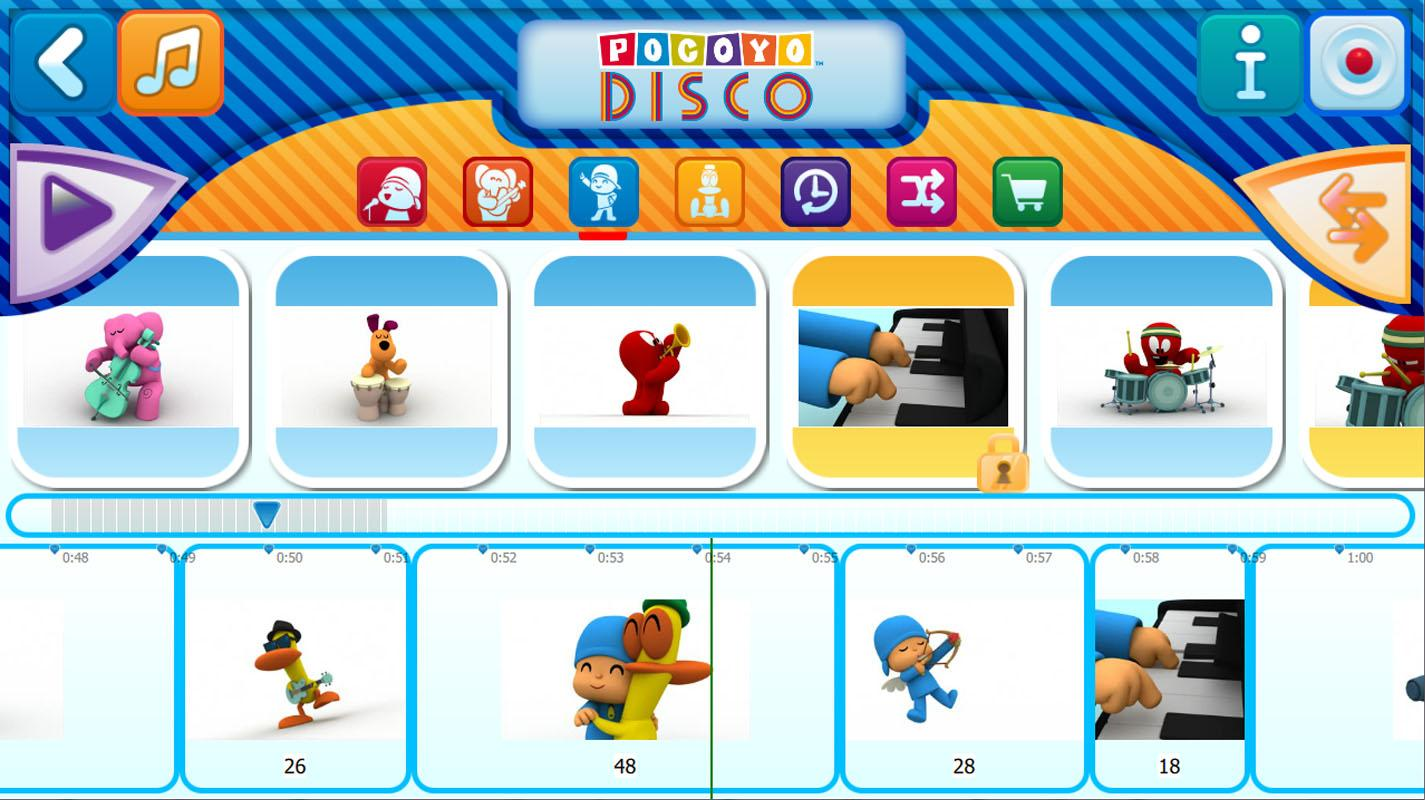 Pocoyo Disco Apl Android Di Google Play