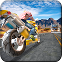 Highway Traffic Bike Escape 3D icon