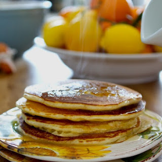 Vanilla Yogurt Pancakes Recipe