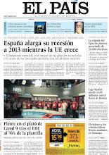 Photo: España alarga su recesión a 2013 mientras la UE crece, la cúpula del Ejército plantea prescindir de 20.000 efectivos y plante en el plató de Canal 9 tras el ERE al 76% de la plantilla, en nuestra portada del martes 17 de julio http://cort.as/2EQm