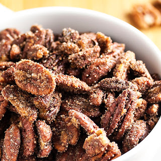 Sweet & Spicy Sugared Pecans