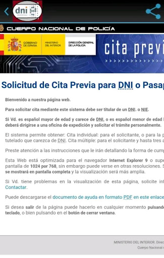 DNI/Pasaporte: Requisitos y Obtenciu00f3n de Cita screenshots 3