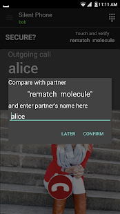 Silent Phone - private calls- screenshot thumbnail