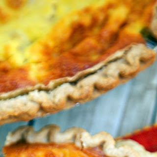 King Ranch Chicken Quiche