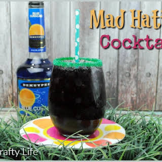 Mad Hatter Cocktail.