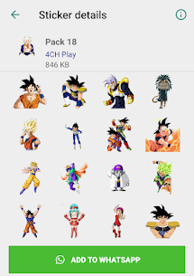Dragon Ball Stickers (2019) 3