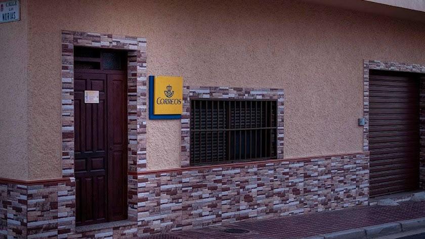 Exterior de la oficina de Correos de Cabo de Gata