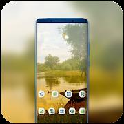 Nature river boat Theme for Nokia X6 wallpaper icon
