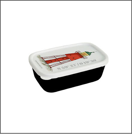 Minibox Fyr Svenska Högarna