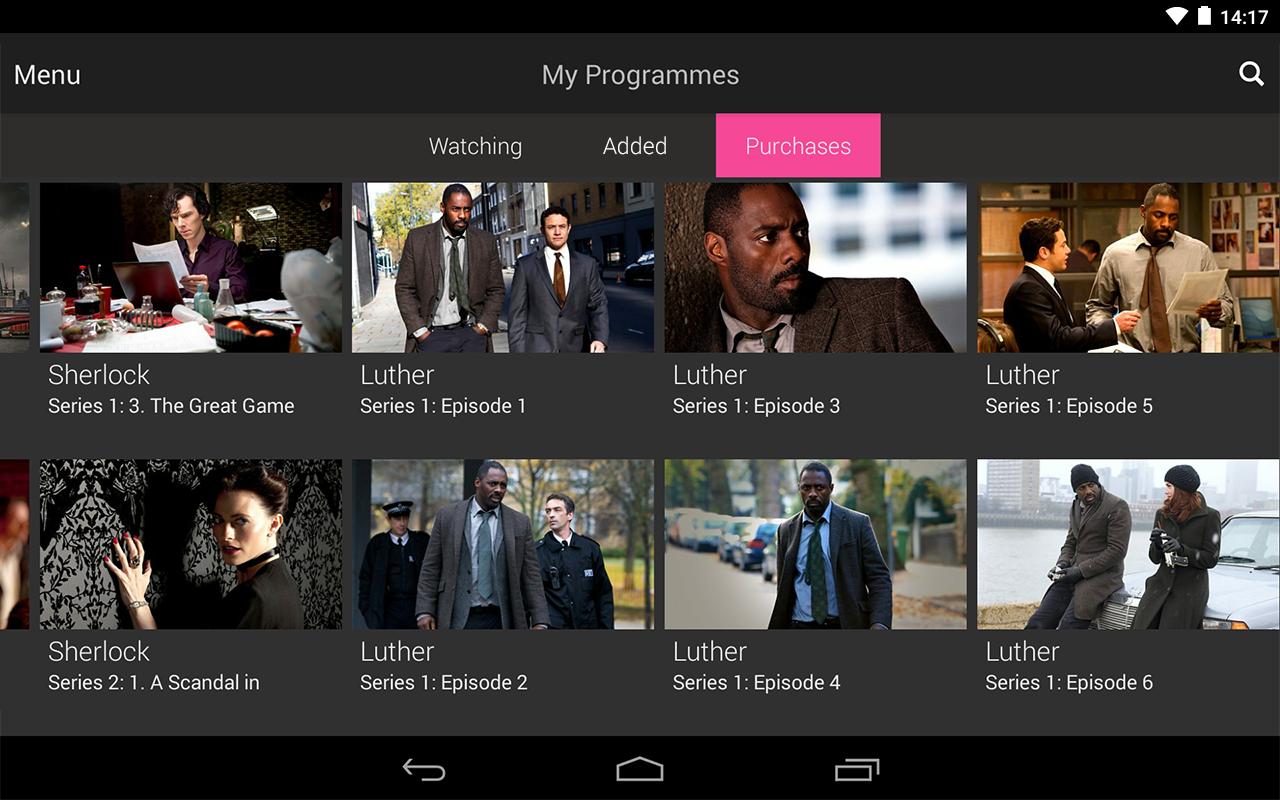 BBC iPlayer screenshot #21