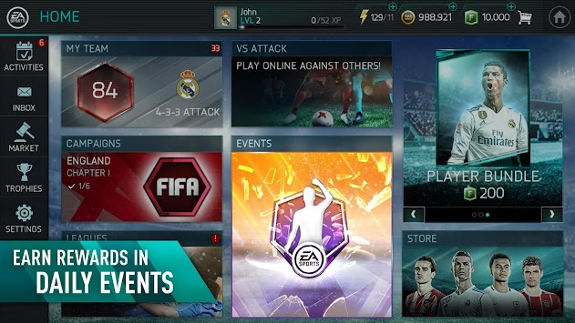 FIFA Soccer Mobile APK screenshot thumbnail 5