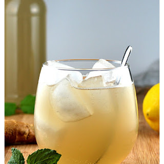 Homemade Ginger Ale {Vegan}